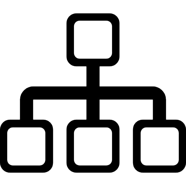 hierarchical structure icon png web icons png hierarchical structure icon png web