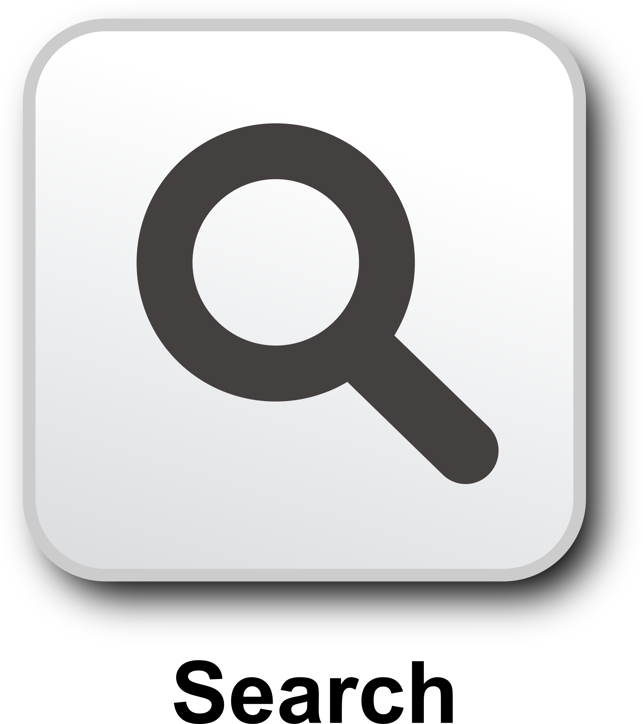 Search Icon - Web Icons PNG