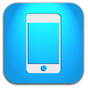 Blue Mobile Phone Icon File | Web Icons PNG