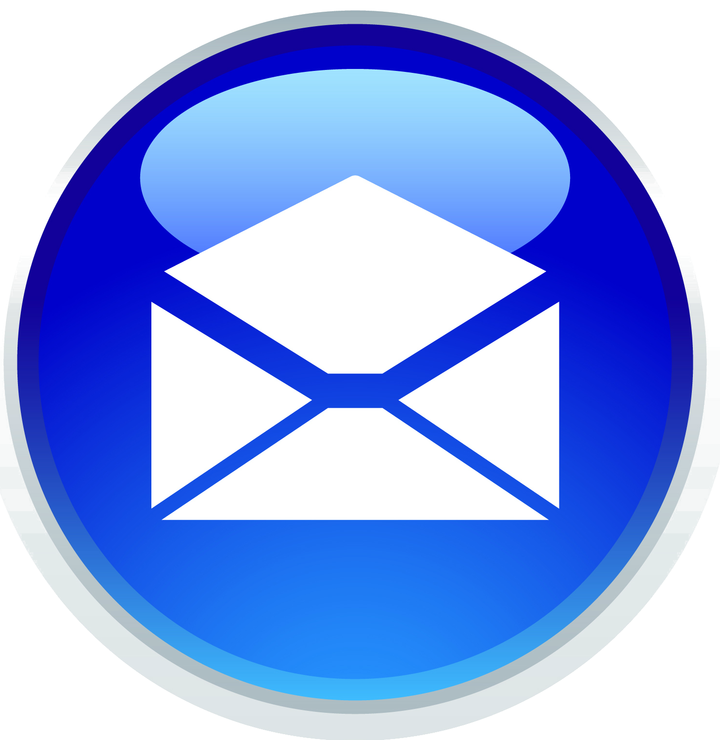 Blue Mobile Phone Transparent Icon - Web Icons PNG