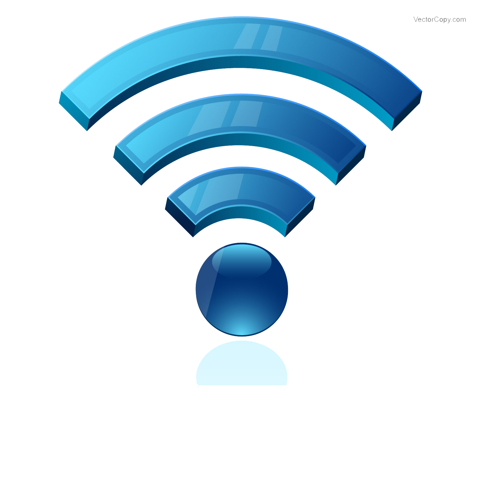Wireless Connectivity Clipart Icon | Web Icons PNG