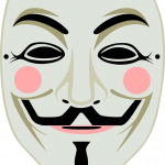 Now you can download Anonymous Mask PNG Icon