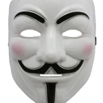 Free download of Anonymous Mask PNG Image Without Background