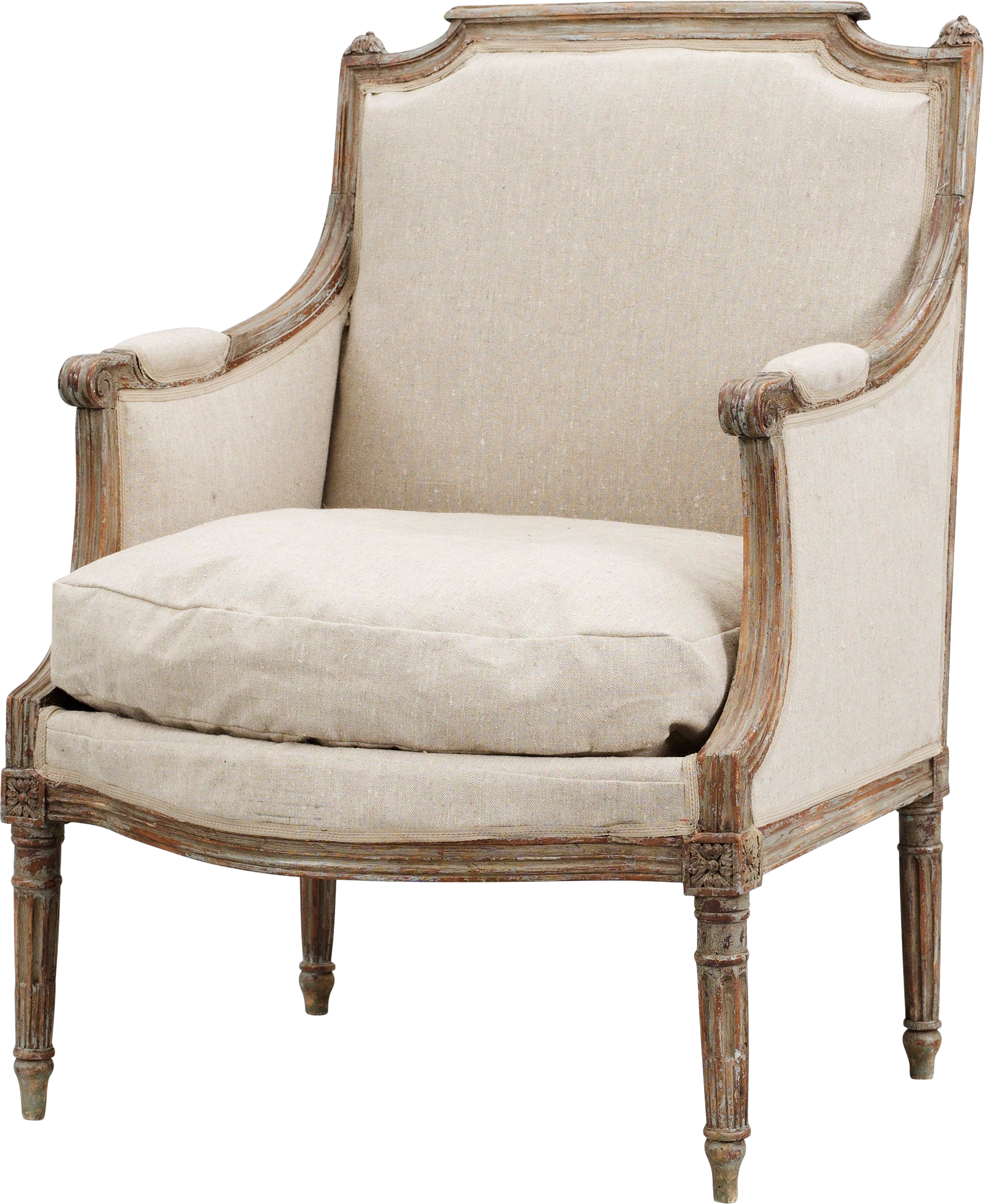 Download and use Armchair Transparent PNG Image