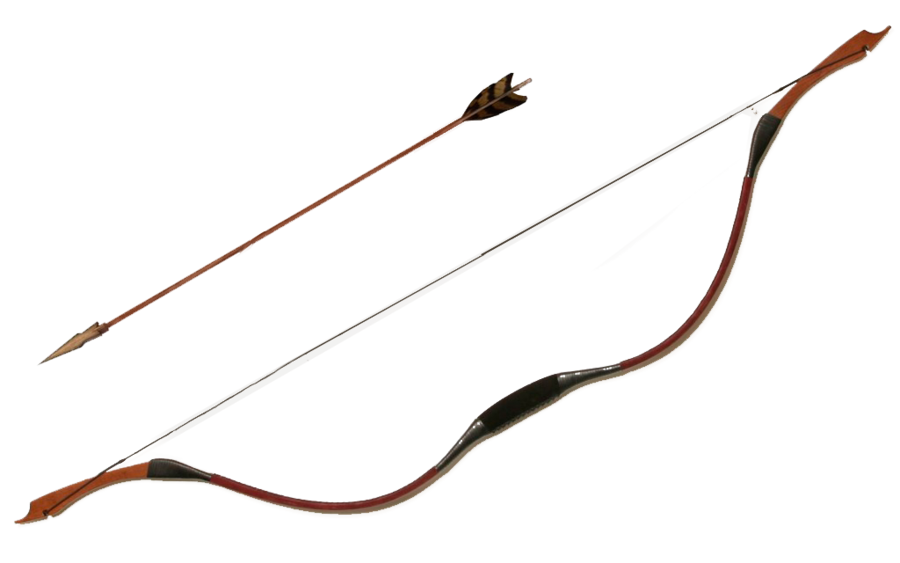 Free download of Arrow Bow PNG Image Without Background
