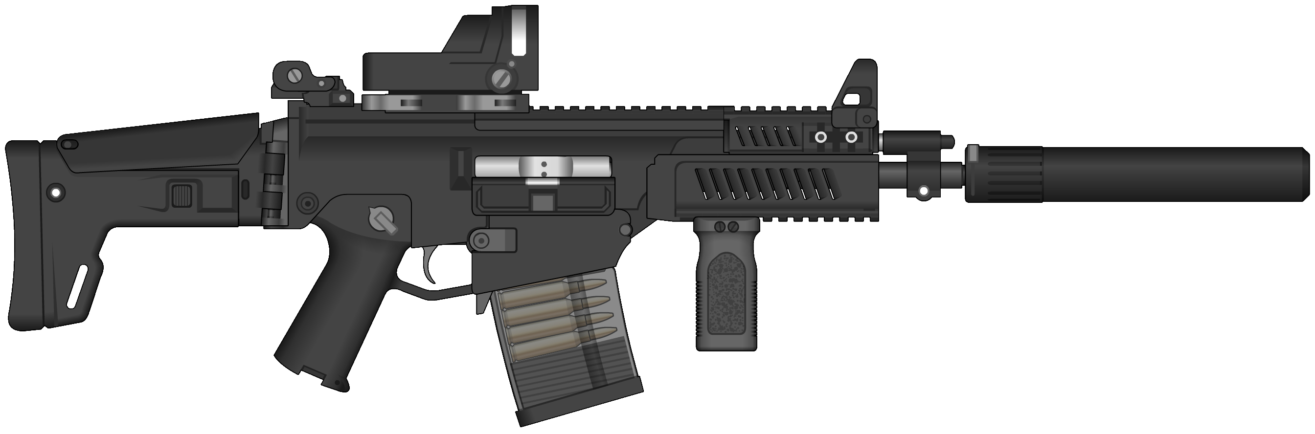Now you can download Assault Rifle Icon PNG