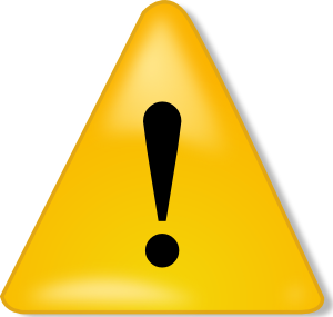 Download this high resolution Attention  PNG Clipart