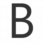 Best free B Icon Clipart