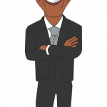 Download for free Barack Obama Icon Clipart