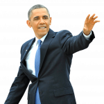 Download and use Barack Obama In PNG