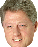 Best free Bill Clinton PNG Image Without Background