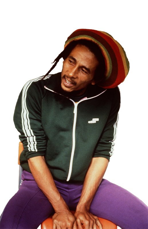 Download and use Bob Marley PNG in High Resolution
