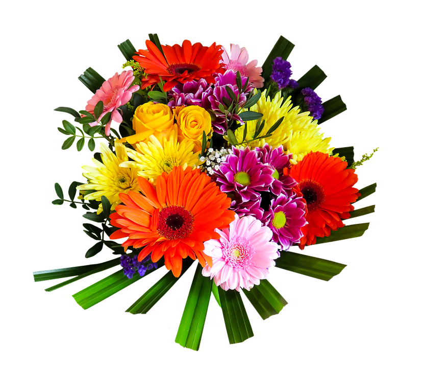Bouquet Of Flowers PNG Clipart | Web Icons PNG