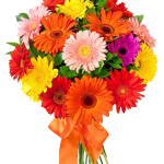 Grab and download Bouquet Of Flowers  PNG Clipart