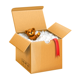 Grab and download Box Icon