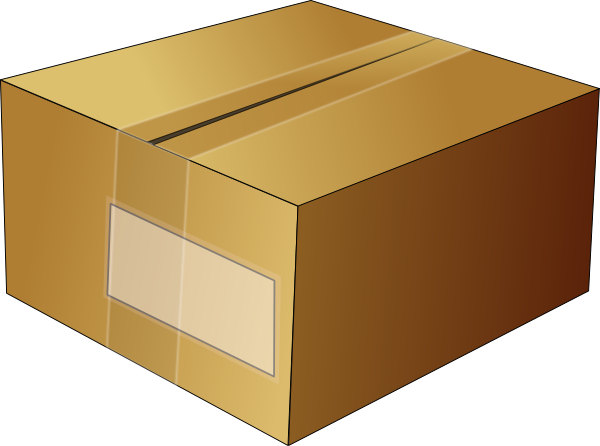 Download and use Box Icon Clipart