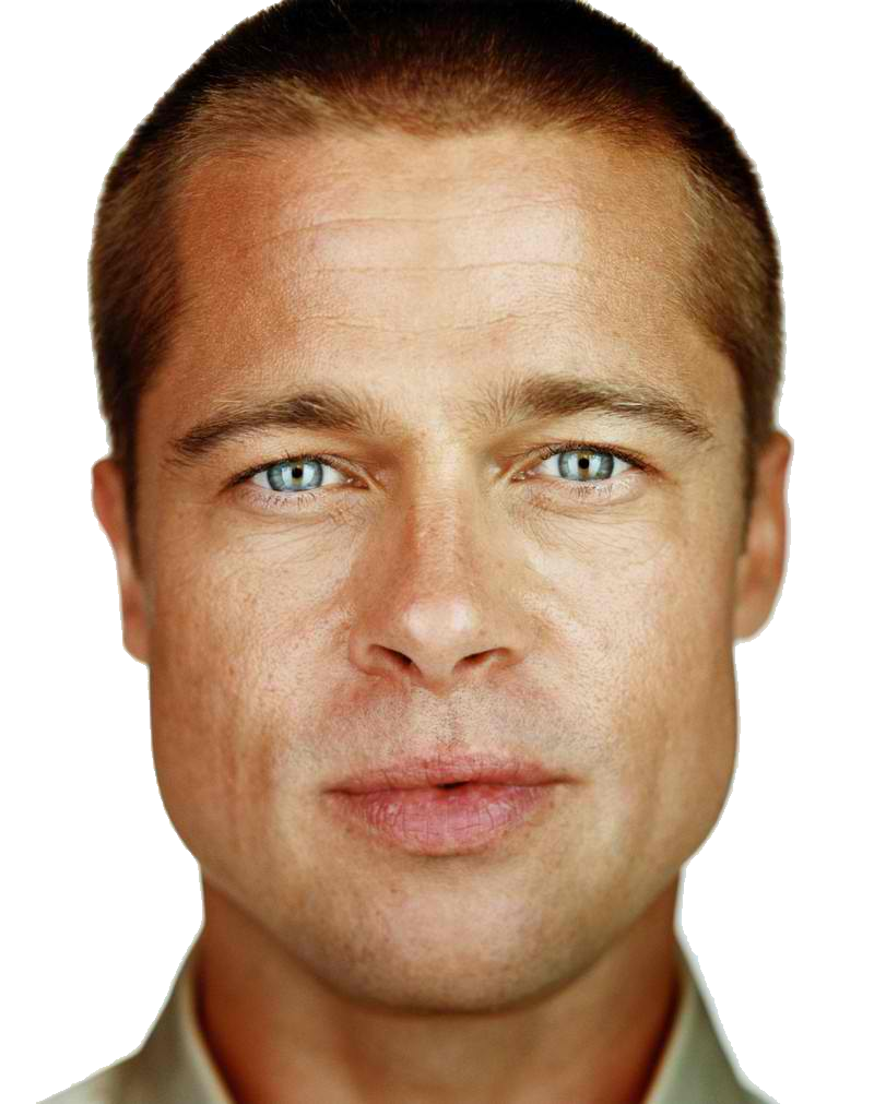 Free download of Brad Pitt PNG Picture