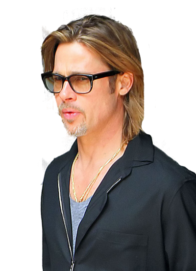 Download and use Brad Pitt PNG in High Resolution