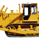 Download this high resolution Bulldozer Icon Clipart