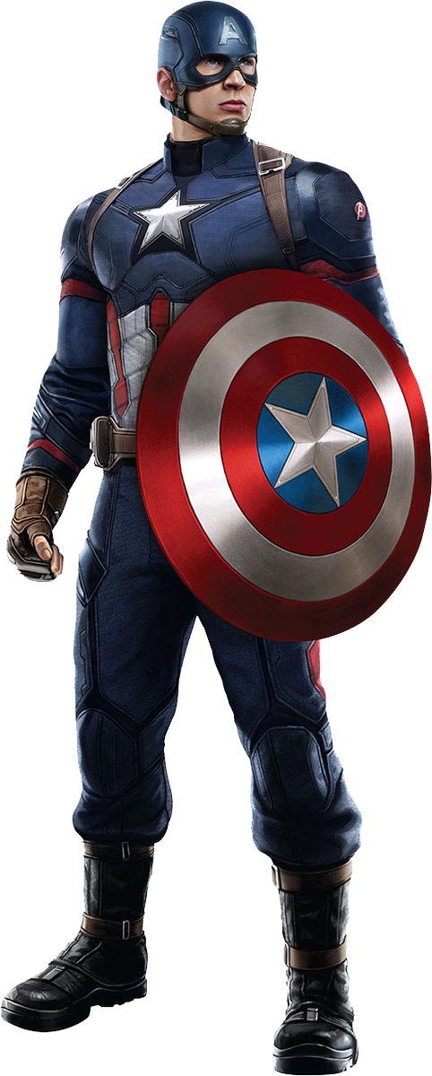 Best free Captain America In PNG