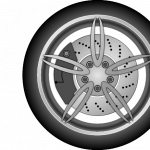 Download for free Car Wheel Icon Clipart