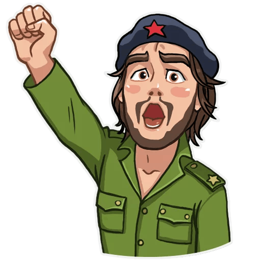 Free download of Che Guevara PNG