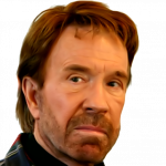Grab and download Chuck Norris Icon PNG