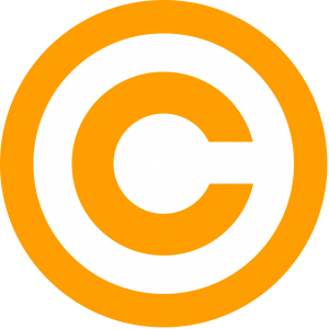 Free download of Copyright Icon