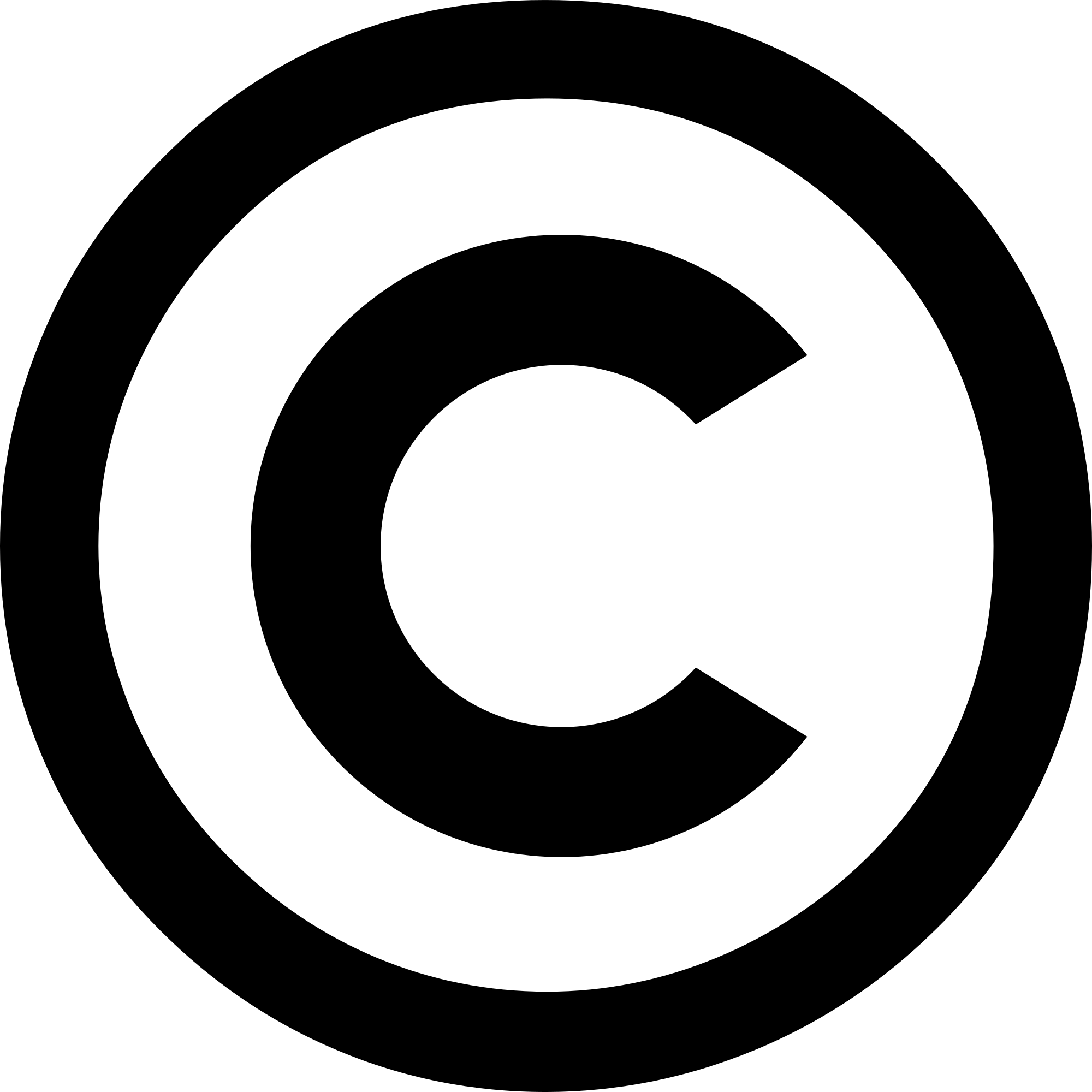 Copyright PNG Icon | Web Icons PNG