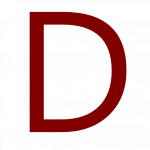 Download this high resolution D Icon PNG