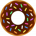 Now you can download Donut PNG