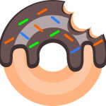 Now you can download Donut  PNG Clipart