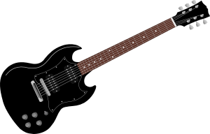 Now you can download Electric Guitar PNG in High Resolution