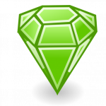 Download this high resolution Emerald Transparent PNG Image