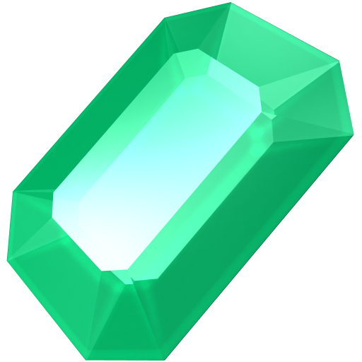 Download this high resolution Emerald In PNG
