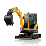 Download this high resolution Excavator PNG