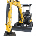 Best free Excavator PNG Picture