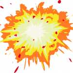 Grab and download Explosion In PNG