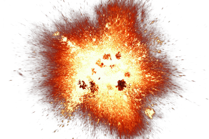 Best free Explosion PNG Icon