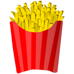 Download for free Fries PNG Icon