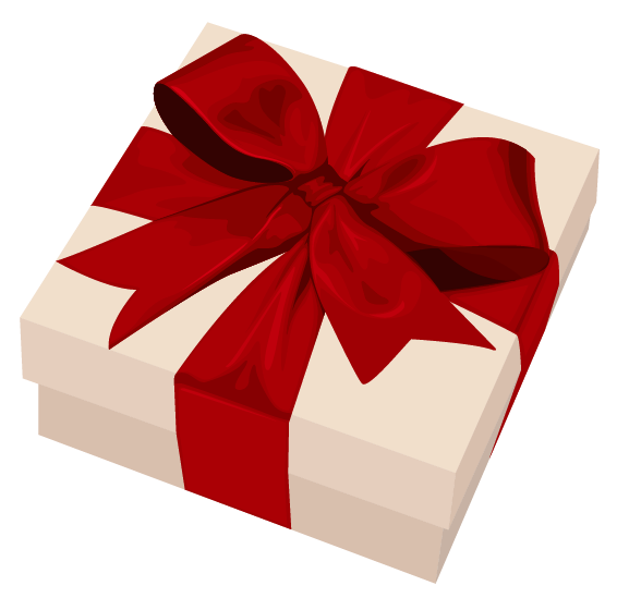 Free download of Gift  PNG Clipart