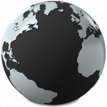 Grab and download Globe Icon Clipart