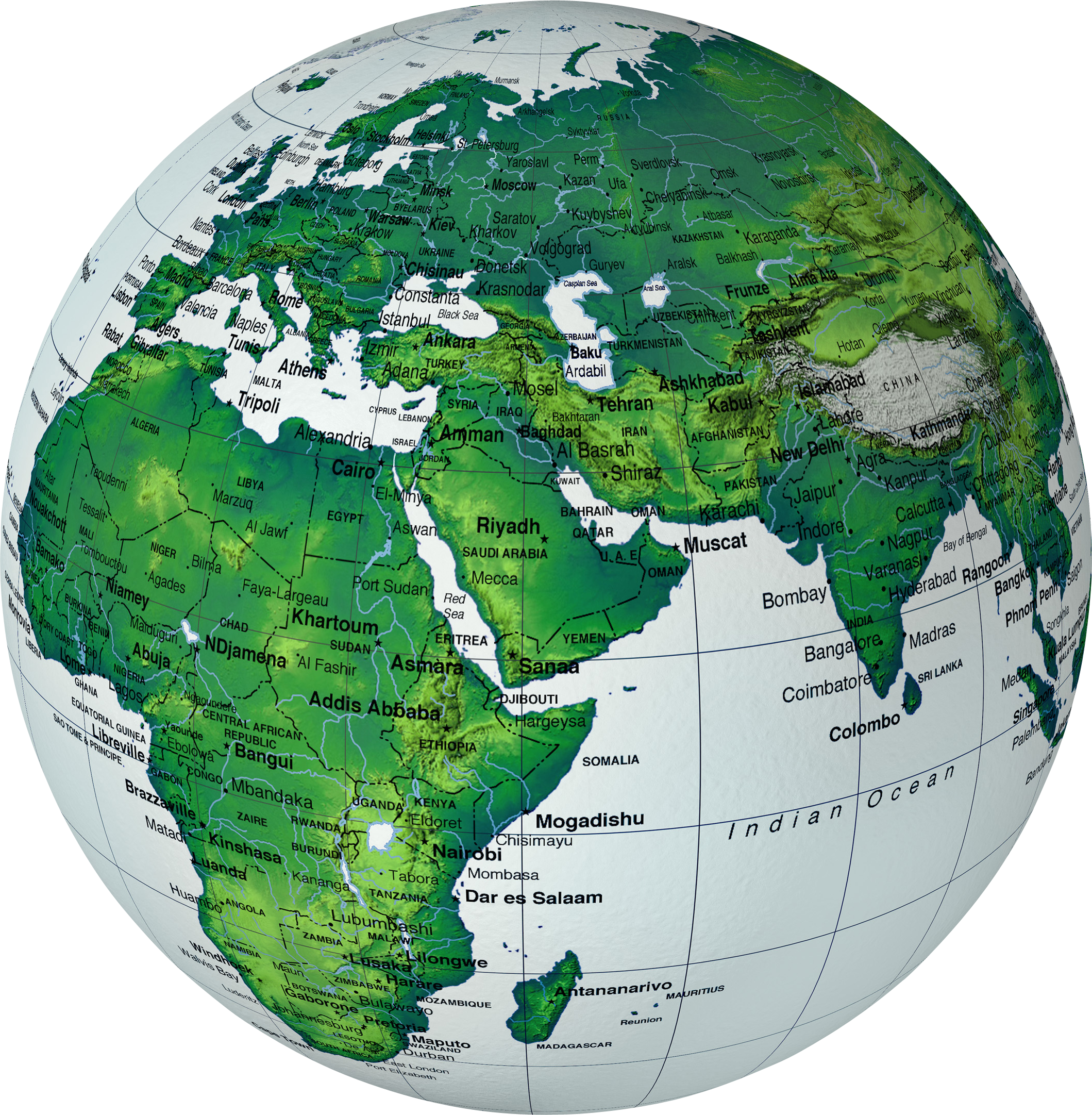 Globe Transparent PNG Image | Web Icons PNG