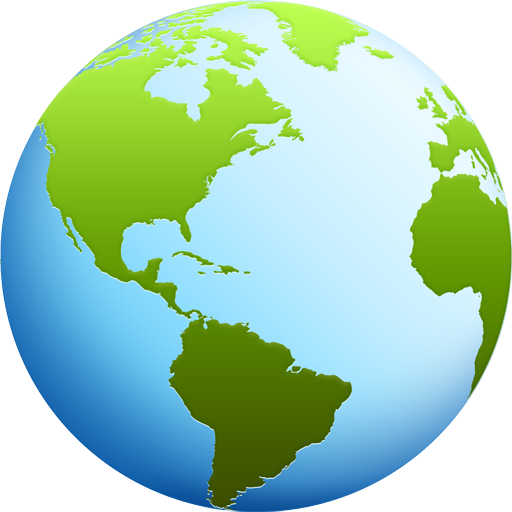 Download this high resolution Globe Icon PNG