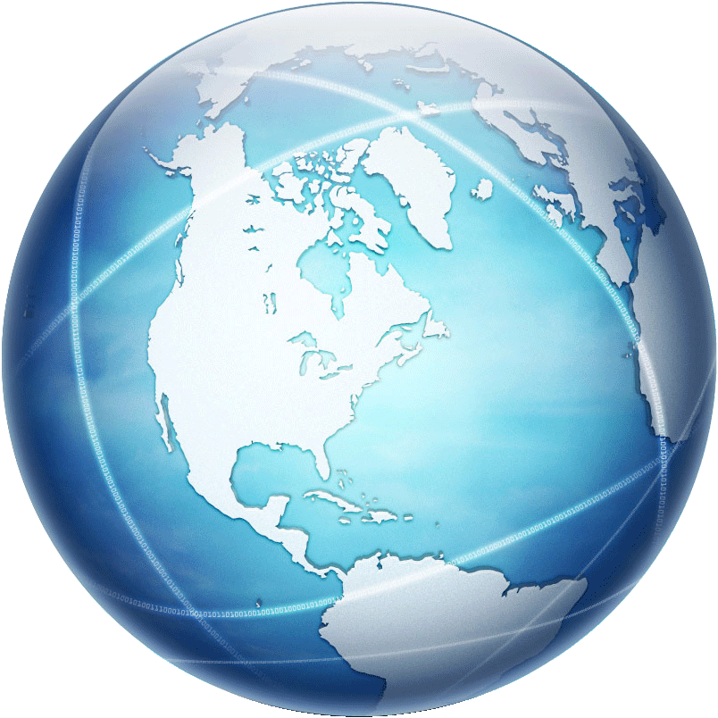 Download and use Globe Transparent PNG Image