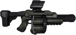 Grab and download Grenade Launcher Icon PNG