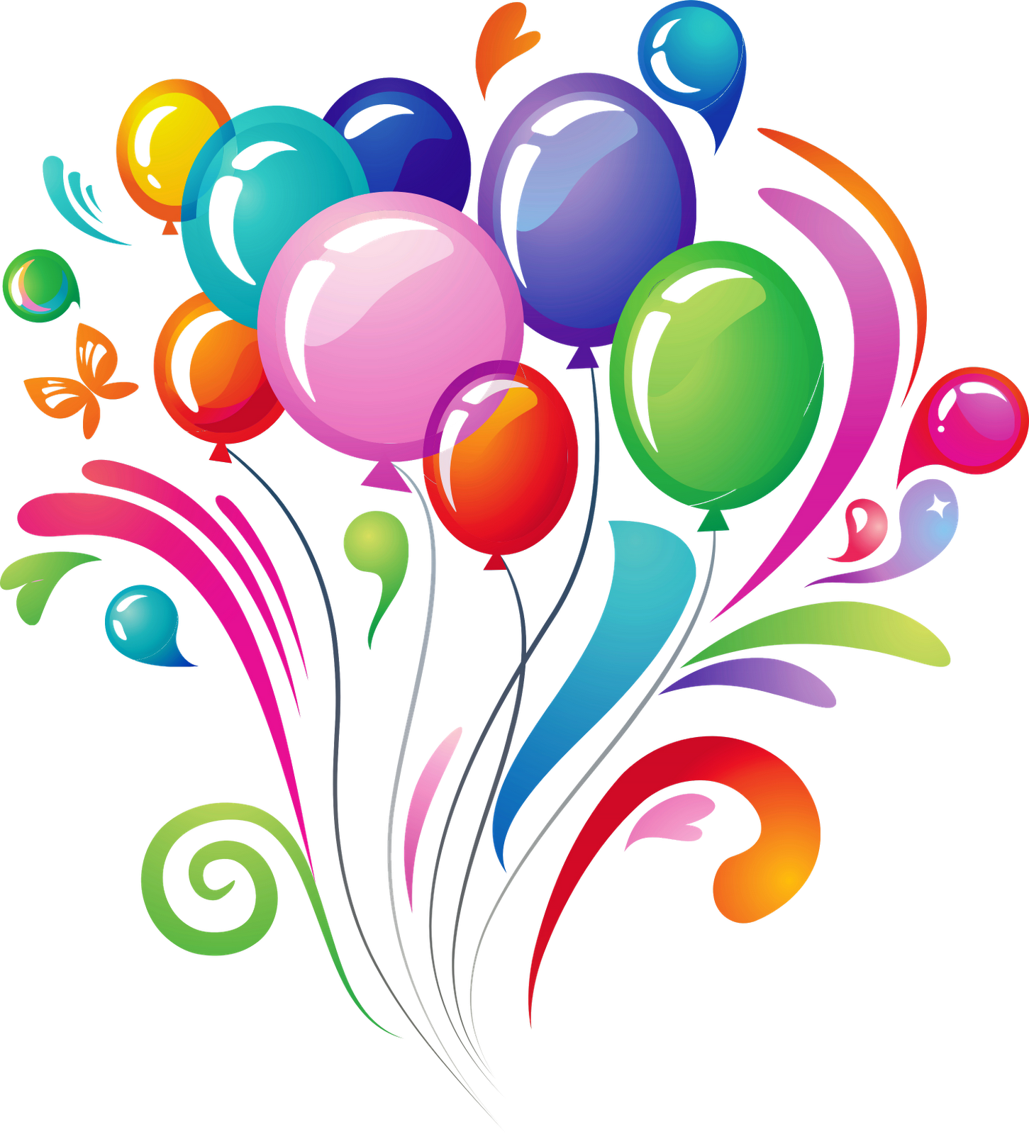 Download and use Happy Birthday PNG