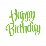 Grab and download Happy Birthday Transparent PNG Image