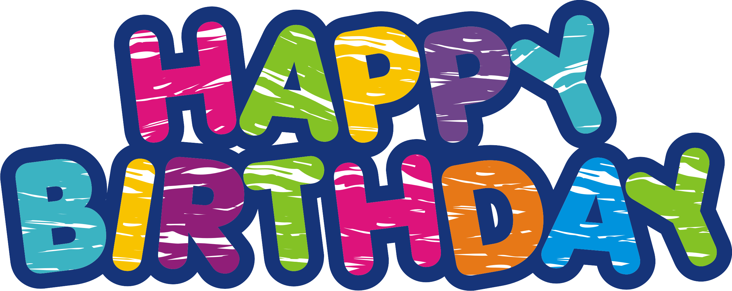 Now you can download Happy Birthday Transparent PNG File