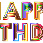 Free download of Happy Birthday High Quality PNG